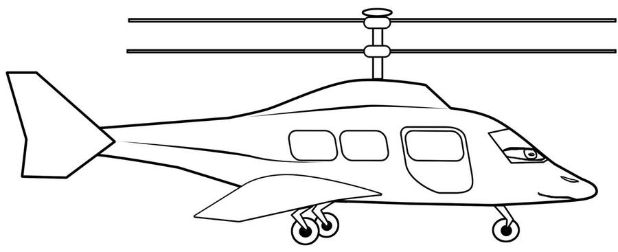 Line Drawing Helicopter : Black and white drawings of helicopters pictures to pin on