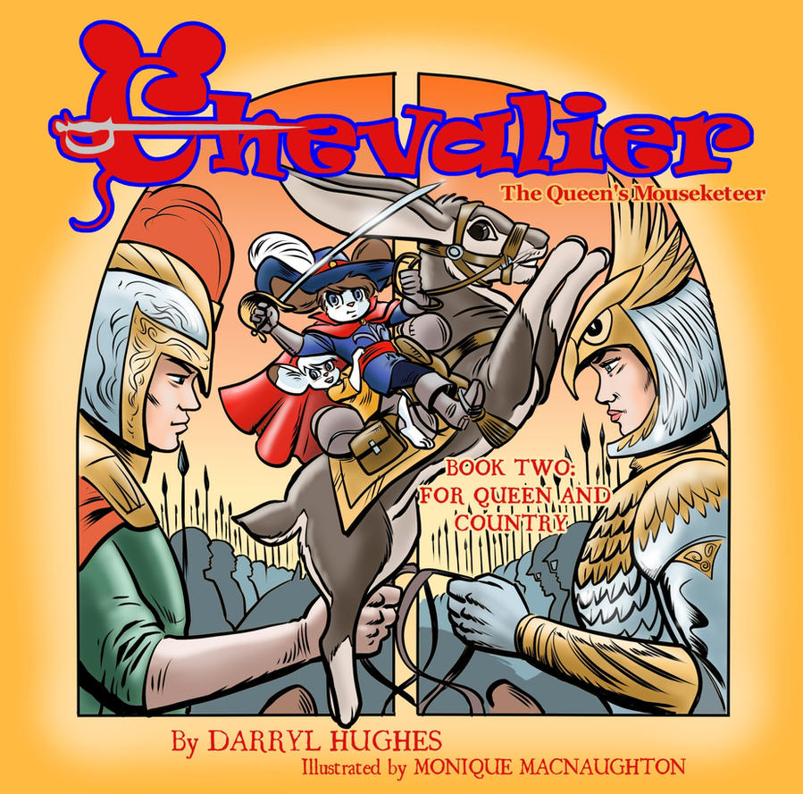 Chevalier Book 2 Cover by amberchrome