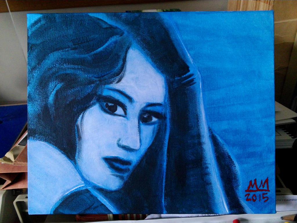 Deep Blue Haze by amberchrome