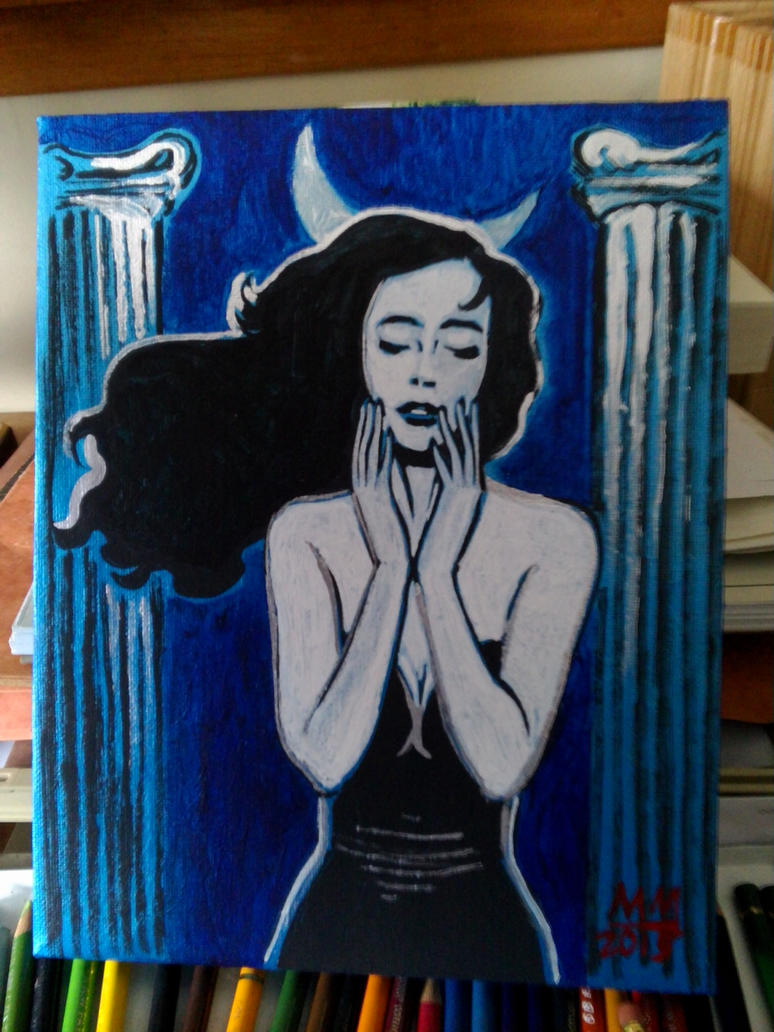 Blue Aphrodite by amberchrome