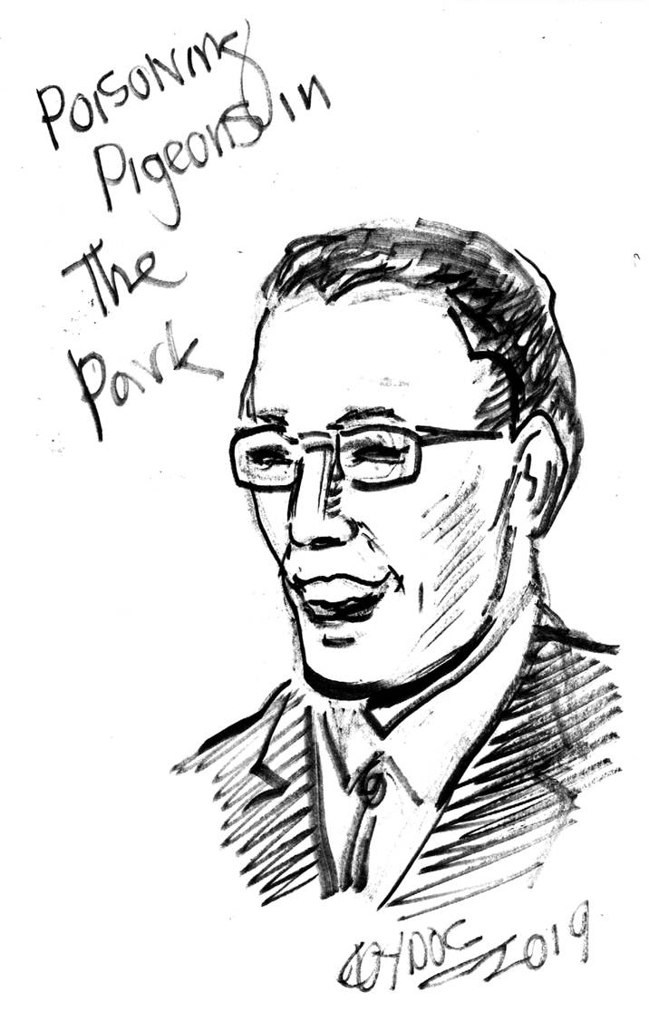 Younger Tom Lehrer by amberchrome