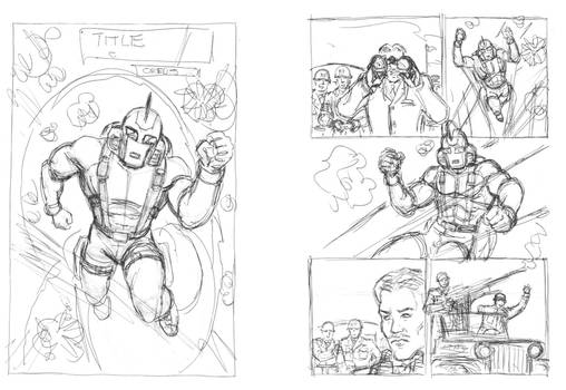 Sky Commander Chapter 3 - First roughs