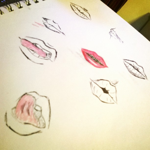 Lips by Grell13