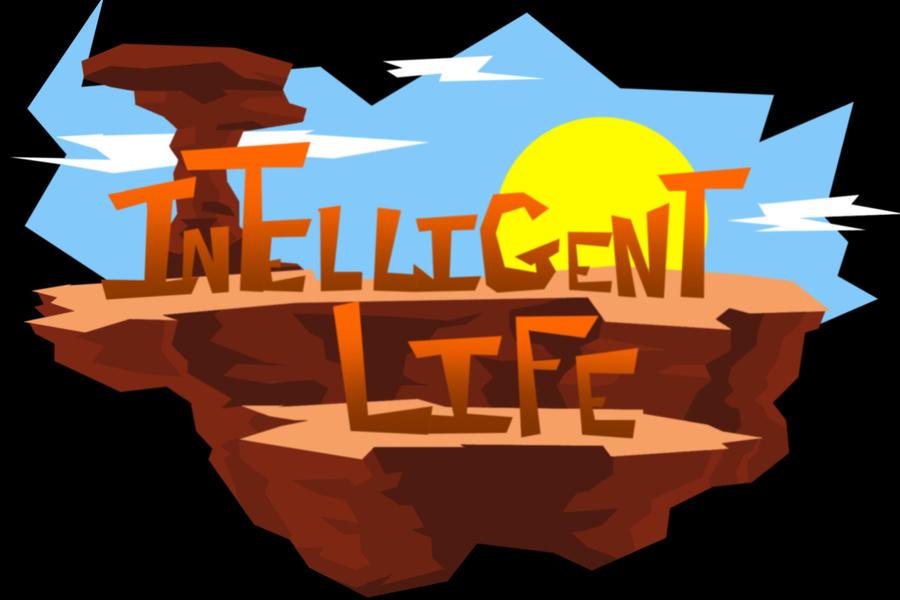 Intelligent Life Logo by VladimirJazz