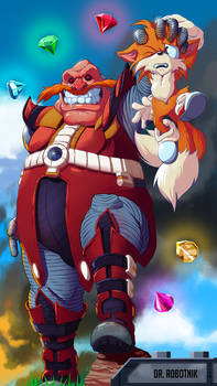 Doctor Robotnik and Tails