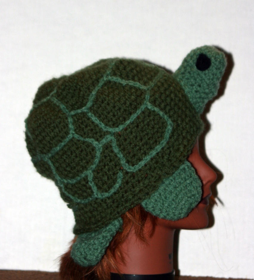 turtle hat by LilithsSmile