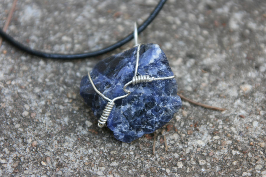 Raw Blue Aventurine Wrap by LilithsSmile on DeviantArt
