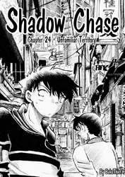 Shadow Chase Chapter 24 cover by BakaThief