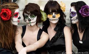 There Were Four Sugar Skulls.. by KristiinaKryptonite