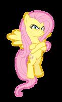 Death Glare Fluttershy by Kired25