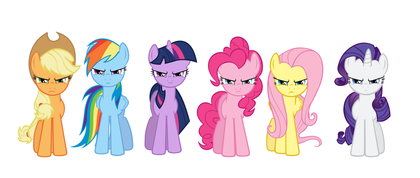 Toys For 7 And Up Mane Provided : Mane six group intro by kired on deviantart