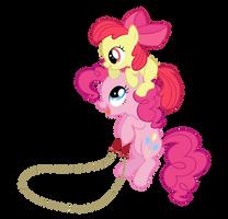 Pinkie Bloom jump rope by Kired25