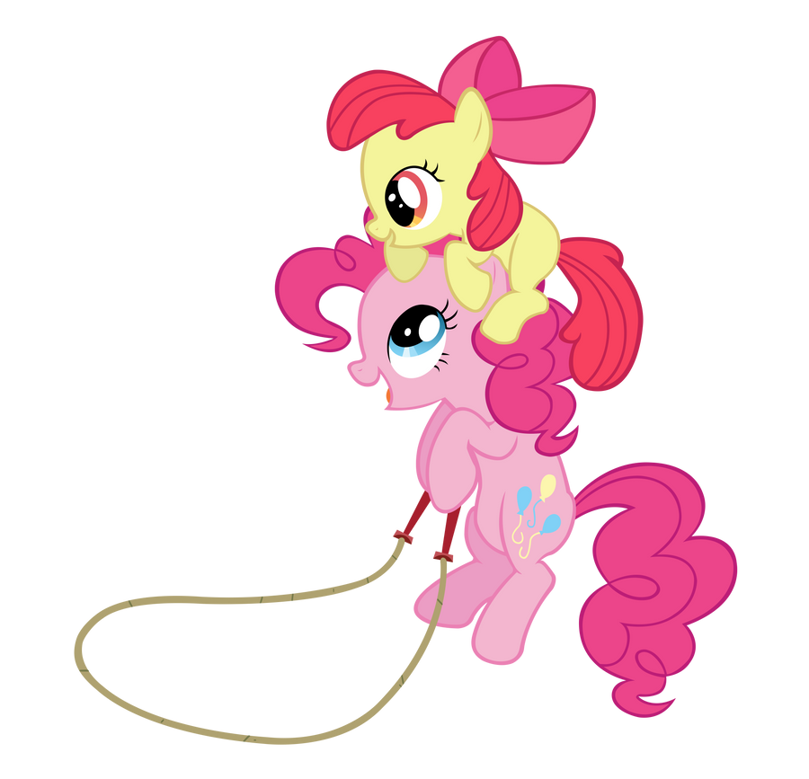 Pinkie Bloom jump rope by Kired25