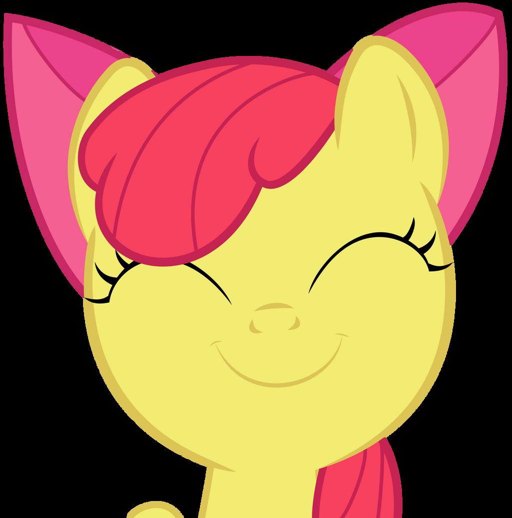 Happy Apple Bloom by Kired25
