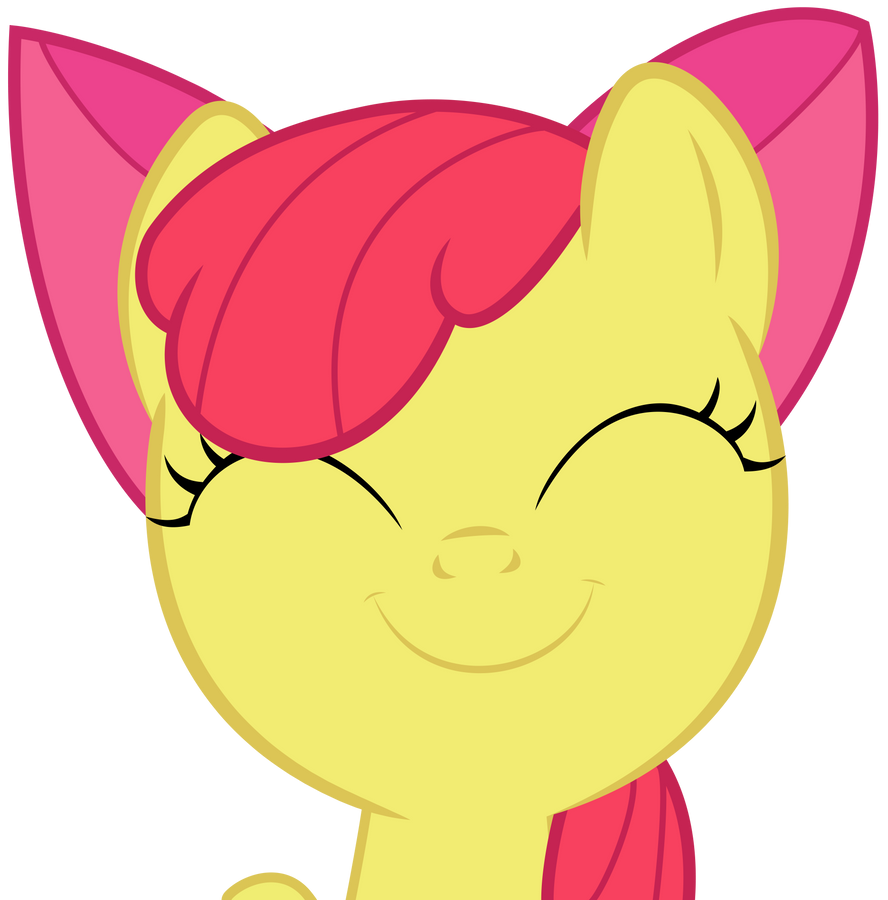 Happy Apple Bloom by Kired25