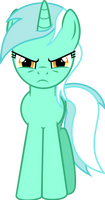 Commission: Angry Lyra