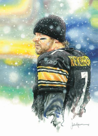 Pittsburgh Steelers Big Ben by JohnHaunLE