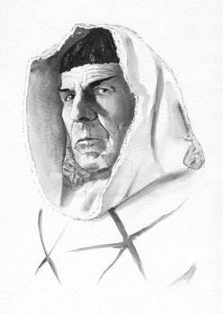 Leonard Nimoy SPOCK sketch