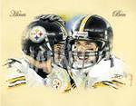 Steelers Ben and Hines
