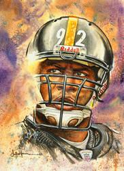 Pitt. Steelers James Harrison by JohnHaunLE