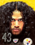 Steelers TROY POLAMALU