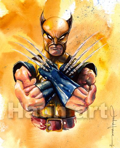 Classic Wolverine / John Haun by JohnHaunLE