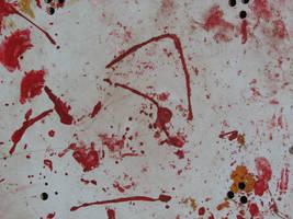 Old paint splash by lorelinde