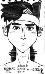 Richard Gamma 4 (Doodle, 2017) by JoshBeta1