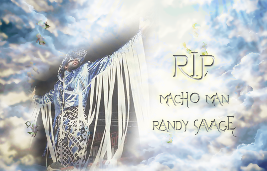 RIP Macho Man Randy Savage By Scrik