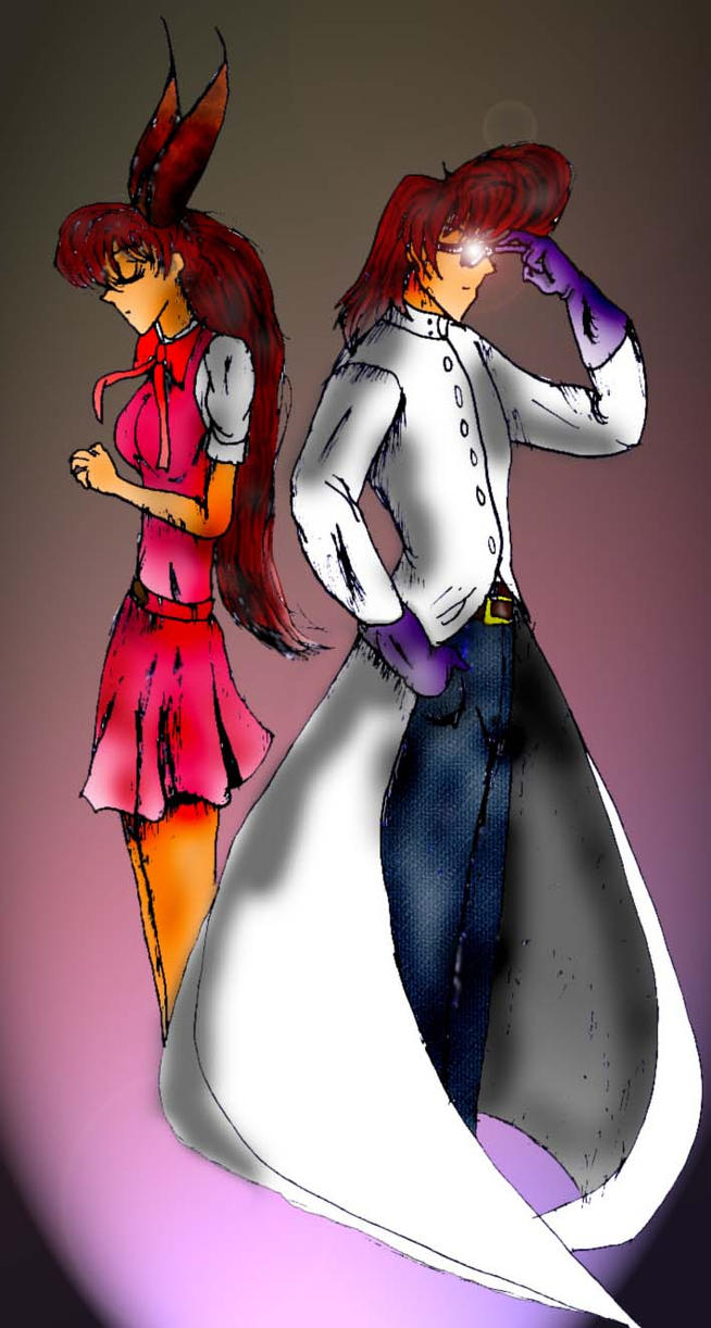 Dexter and Blossom in colors by scrik
