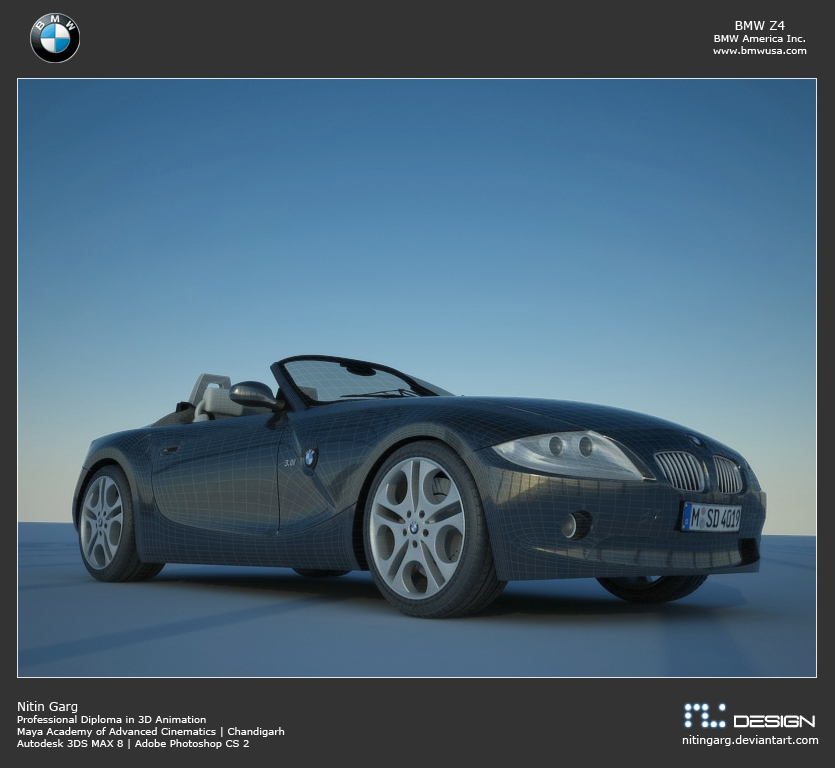 Bmw Z4 Convertible: BMW Z4 Roadster By Nitingarg On DeviantArt