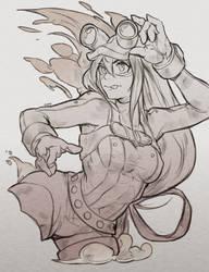 Sketch #1 Tsuyu (My Hero Academia)