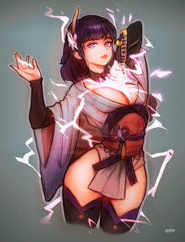[Fanart] Baal (Genshin Impact)