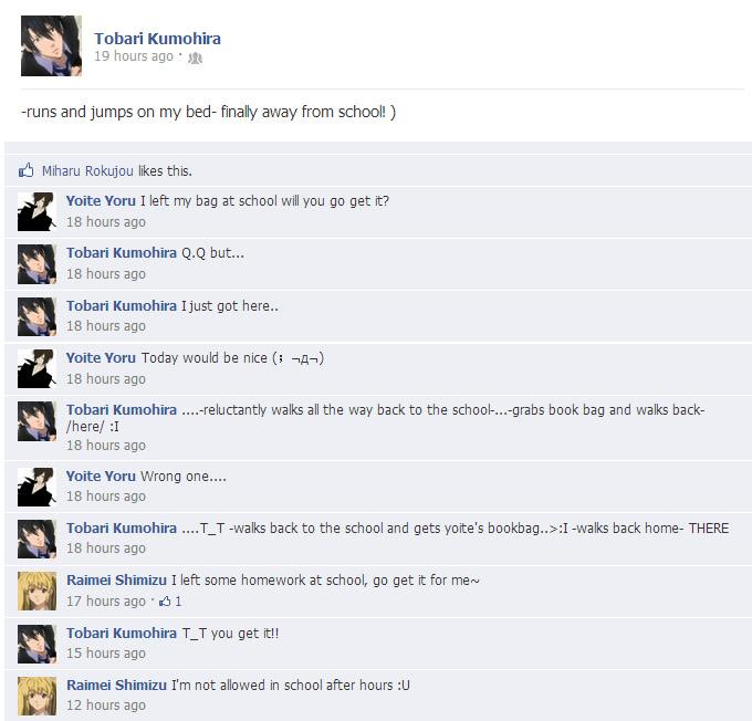 Nabari No Ou Miharu And Raimei Nabari No Ou Facebook ...