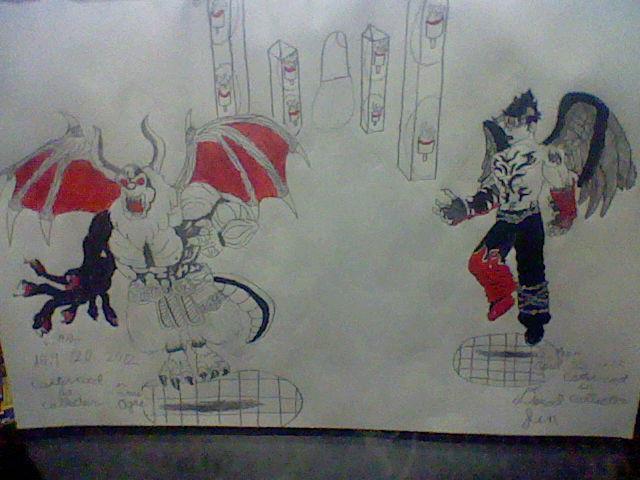 Devil jin ambushes True ogre by amazerbeta