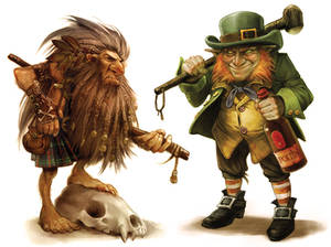 Korred and Leprechaun