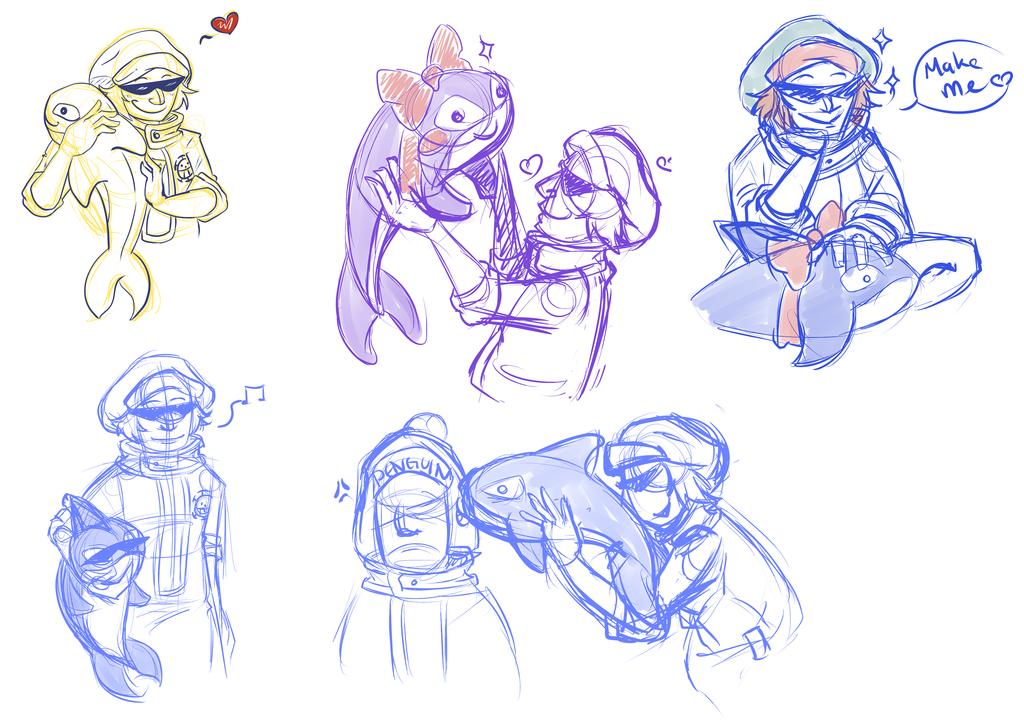 OP Doodles 3 by michichibi