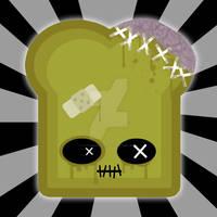 Zombie Toast by LadyMascara