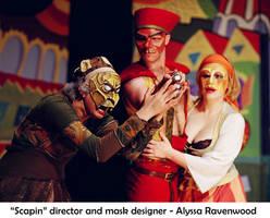 Commedia Dell'Arte Scapin by Alyssa-Ravenwood