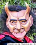 The Beast - theater mask by Alyssa-Ravenwood