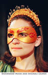 Venus - theater mask by Alyssa-Ravenwood