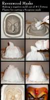 making a negative plaster mold by Alyssa-Ravenwood