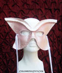 Pink Champagne Butterfly mask by Alyssa-Ravenwood