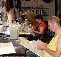 Mask Making Workshop by Alyssa-Ravenwood