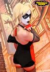 Harley Quinn Cosplay NY