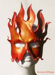 Fire leather mask