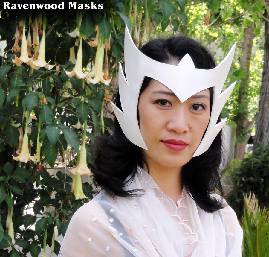 Snow Queen Headdress by Alyssa-Ravenwood