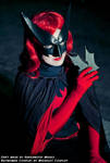 Batwoman Cosplay - leather mask