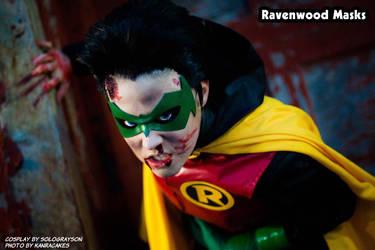 Robin - Damian Wayne cosplay by SoloGrayson by Alyssa-Ravenwood