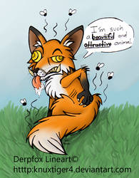 .:Derping Rabies:. by Knuxtiger4